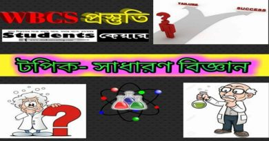 General Science for WBCS
