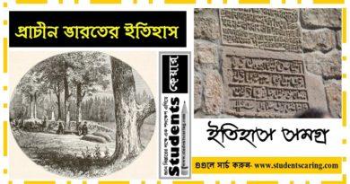 প্রাচীন ভারতের ইতিহাস পর্ব-১ (General Knowledge)