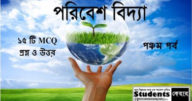 Environment Studies part 5