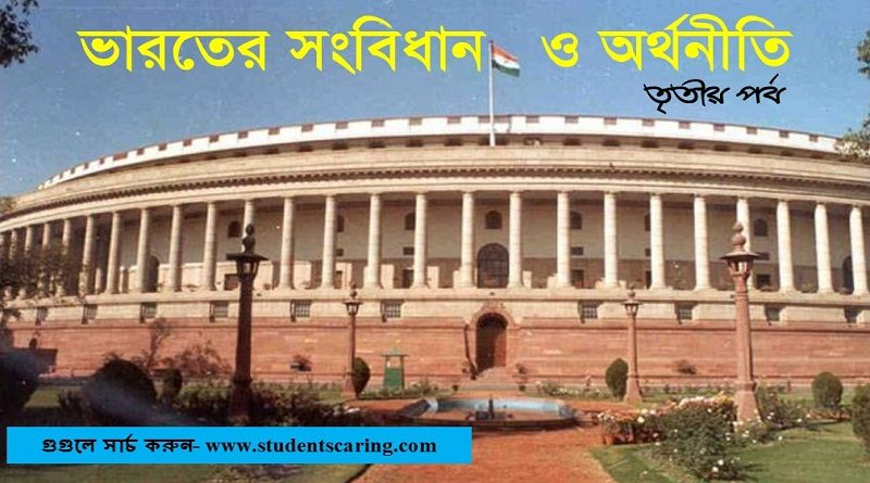 Indian constitution and Economy-Part-3