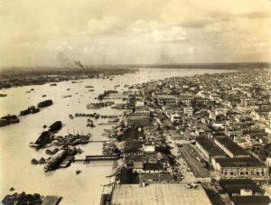 Port of Kolkata in 1945
