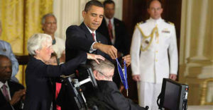 presidential medal of freedom stephen hawking