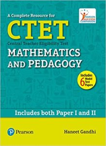 CBSE-CTET Paper-I & ll (Maths&Science)- pearson