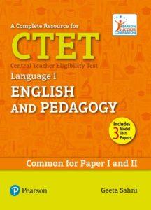 CTET - Language I - English and Pedagogy- Pearson