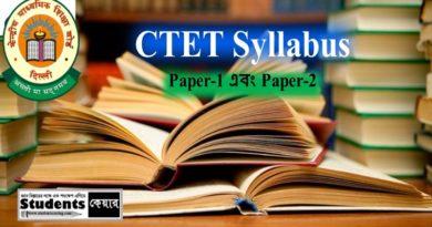 CTET Syllabus