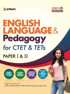 English Language & Pedagogy for ctet & tets paper I & II- Arihant