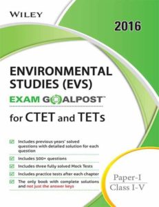 CTET Environmental Studies Books- Wiley