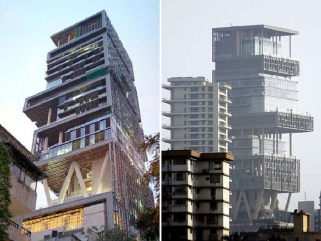 Facts About Mukesh Ambani's House 'Antilia'