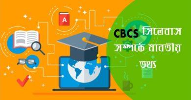 CBCS Syllabus