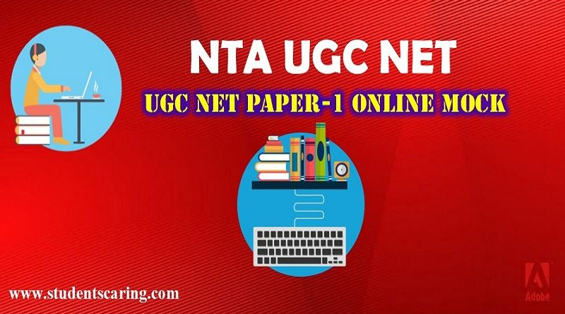 NTA UGC NET PAPER-1 ONLINE DEMO MOCK TEST