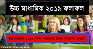 Higher Secondary Result 2019