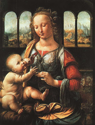 Madonna of the Carnation (1478-80)
