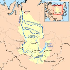Yenisei নদী
