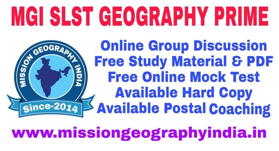MGI SLST Geography Prime