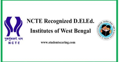 NCTE Recognized D.El.Ed. Institutes in West Bengal