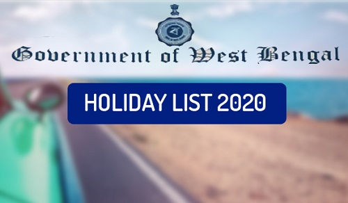West Bengal Holiday List 2020