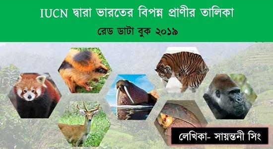 IUCN দ্বারা ভারতের বিপন্ন প্রাণীর তালিকা