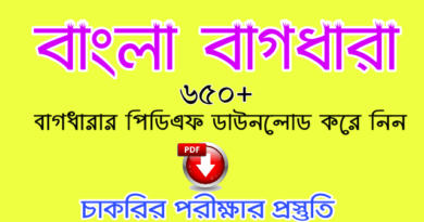 বাংলা বাগধারা pdf